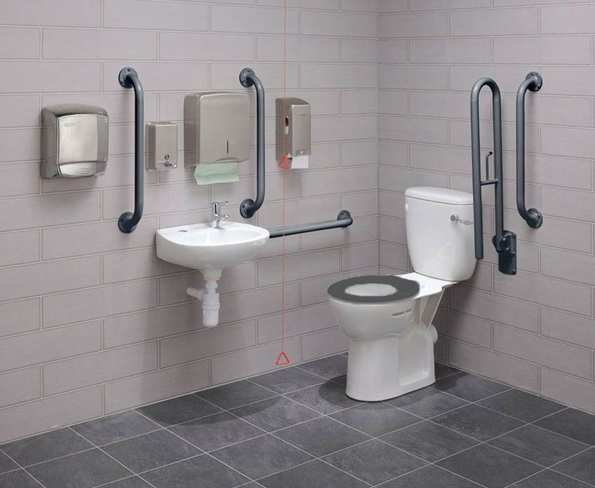 adaptive toilet options for disables adults