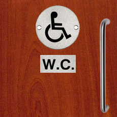 Disabled Toilet Doors